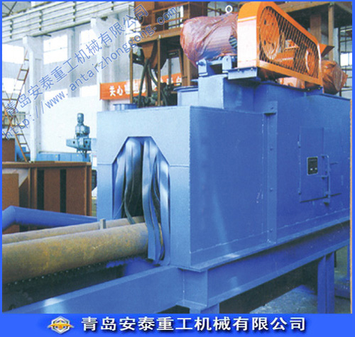 Round spring Shotblast cleaning machine